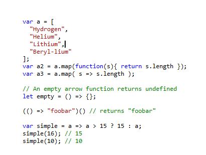 arrow-function-ecmascript
