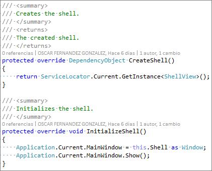 Creación de interfaces de usuario utilizando Prism - 005