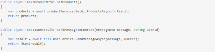 Async VS Multithread
