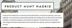 Product-Hunt-Madrid
