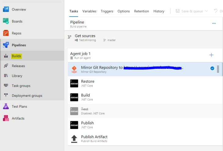 commit en el Azure DevOps del cliente 2